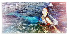 Mermaid Shores Beach Towel