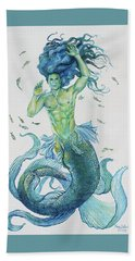 Merman Clyde Beach Towel
