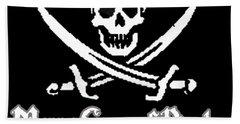 Merry Gang Of Pirates Beach Sheet