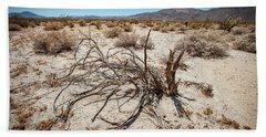 Mesquite In The Desert Sun Beach Sheet