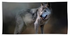 Mexican Wolf Beach Towel
