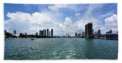 Miami2 Beach Towel
