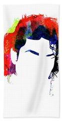 Michael Watercolor II Beach Towel