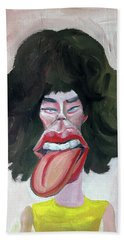 Mick Rock Star Beach Towel