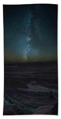 Beach Towel featuring the photograph Milky Way Over Dead Horse Point by David Morefield