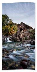 Mill On Crystal River Beach Towel