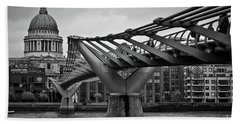 Millennium Bridge 01 Beach Towel