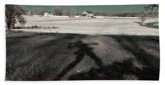 Mississippi Shadow Beach Towel