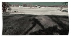 Mississippi Shadow Beach Towel