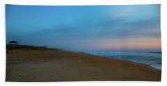 Beach Towel featuring the photograph Misty Morning by Lora J Wilson