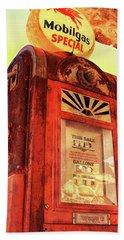 Mobilgas Special - Vintage Wayne Pump Beach Sheet