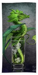 Mojito Dragon Beach Towel