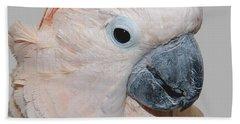 Moluccan Cockatoo Beach Sheet