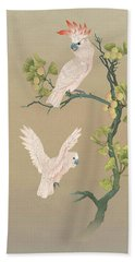 Moluccan Cockatoos  Beach Towel