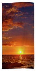 Monday Sunset Beach Towel
