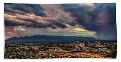 Monsoon Hits Tucson Beach Towel