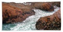 Montana Jagged Rocks Beach Towel