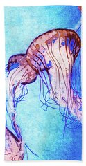 Monterey Bay Aquarium Mixed Media Beach Towels