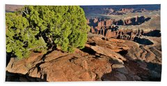 Monument Basin From Grand View Point Beach Towel