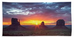 Monumental Morning  Beach Towel