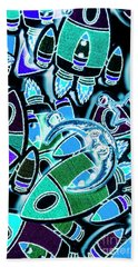 Moon And Beyond Beach Towel