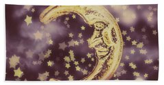 Moon Dreams Beach Towel