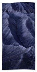 Moon Light Mountainside Beach Towel