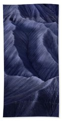 Moon Light Mountainside Beach Towel