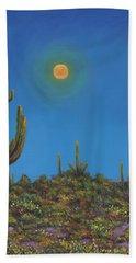 Moonlight Serenade Beach Towel