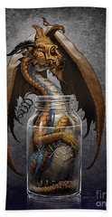 Moonshine Dragon Beach Towel