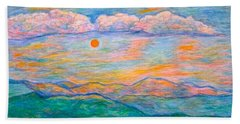 Morning Color Dance Beach Towel