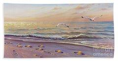 Morning Glisten Beach Sheet