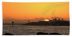 Morning Glow Beach Towel