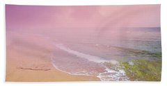 Morning Hour By The Seashore In Dreamland Beach Sheet