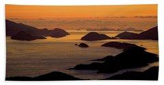 Morning Islands Beach Towel