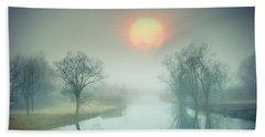 Morning Mist Beach Sheet