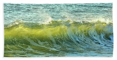 Morning Ocean Break Beach Towel