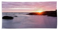 Morning Sun Good Harbor Beach Towel