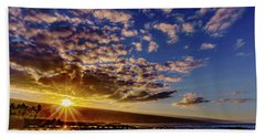 Morning Sunrise Beach Towel