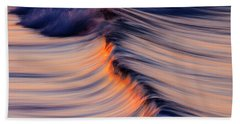 Beach Towel featuring the photograph Morning Wave by John Rodrigues