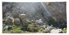 Morro Rock Cluster Beach Towel