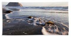Morro Rock Ebb Tide Beach Towel