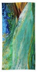 Mother Nature - Portrait View Beach Towel