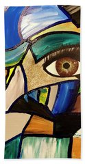 Motley Eye 5 Beach Towel