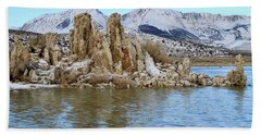 Mount Dana At Dawn  Mono Lake Beach Towel