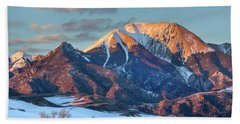 Mount Herard, Great Sand Dunes National Beach Towel