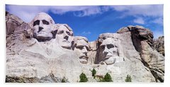 Mount Rushmore  Beach Towel