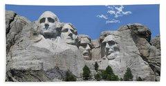 Mount Rushmore Beach Sheet