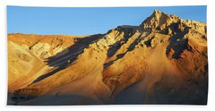 Beach Towel featuring the photograph Mountain Gold by Whitney Goodey