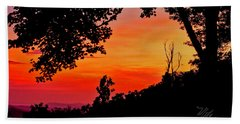 Mountain Sunrise Beach Towel